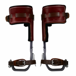 Climb Right CTB Aluminum Pole Climbing Spurs & T-Pads - #91266