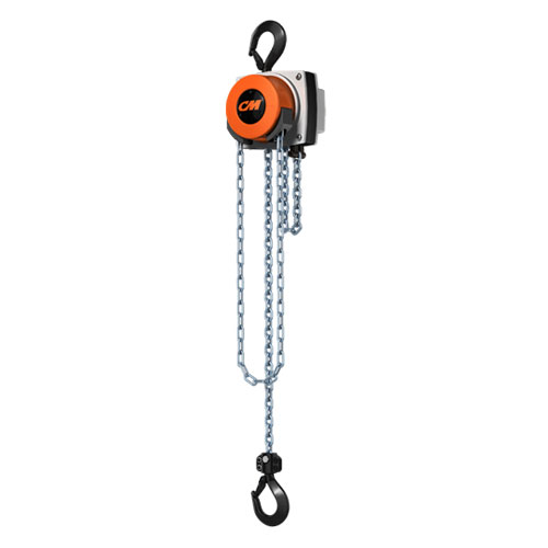 CM Hurricane 1 Ton x 15 ft Hand Chain Hoist - #5627A