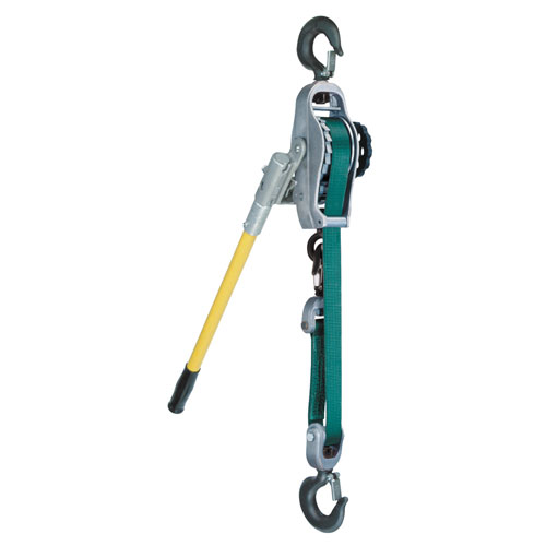 Little Mule 250A 1/2 Ton x 9 ft Lineman's Strap Hoist - #04190W
