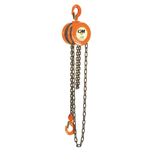 CM 622 2 Ton x 10 ft Hand Chain Hoist - #2258A