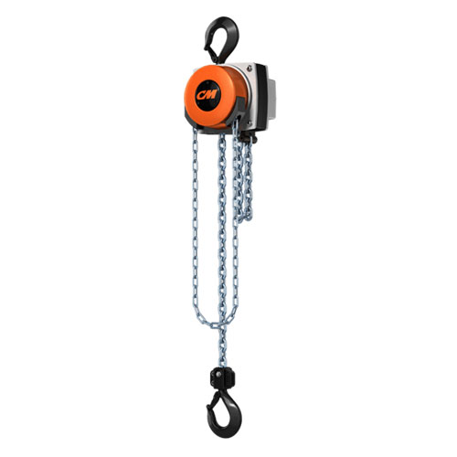 CM Hurricane 2 Ton x 15 ft Hand Chain Hoist - #5630A