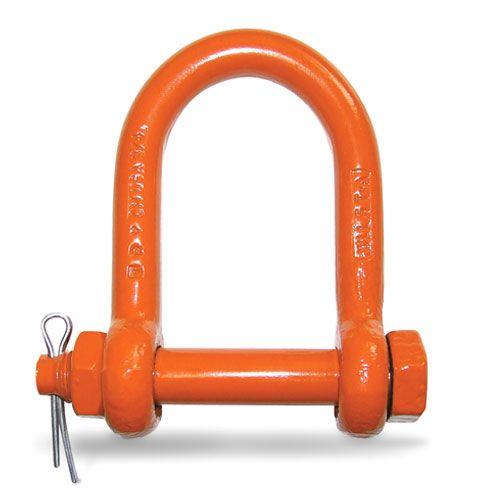 "CM 3/4"" Bolt Type Long Reach Shackle - 5 Ton WLL - #M9152P"