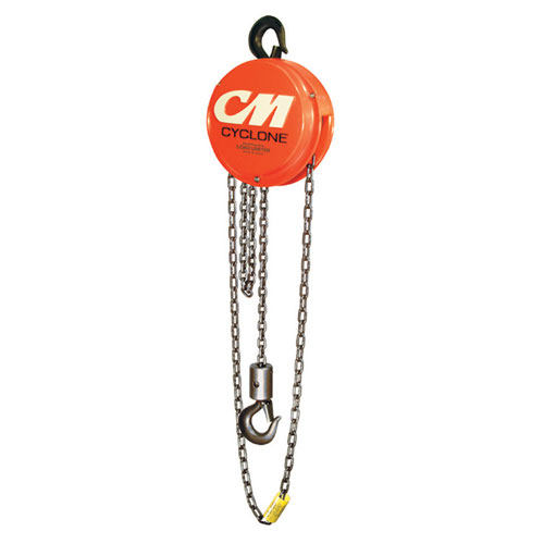 CM Cyclone 646 3 Ton x 10 ft Hand Chain Hoist - #4627
