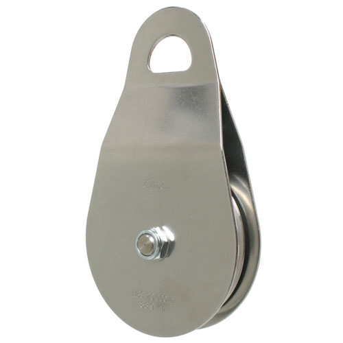 """CMI 4"""" Heavy-Duty Rope Pulley - 5/8"""" Rope - #RP123NFPA"""
