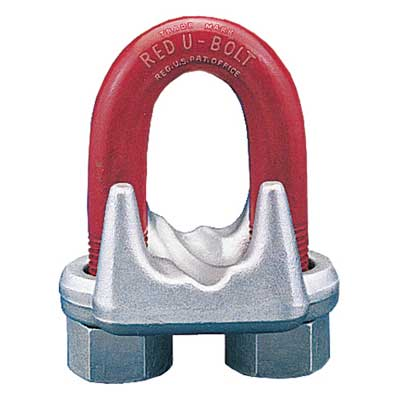 "Crosby 1/4"" G-450 Wire Rope Clip - #1010051"