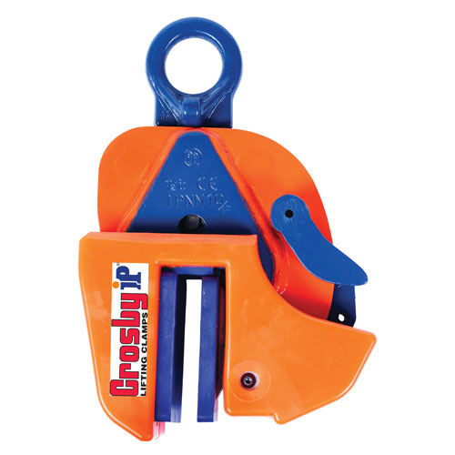 Crosby IP IPNM10P 1 Ton Non-Marring Lifting Clamp - #2703279