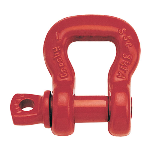 Crosby S-253 Screw Pin Sling Shackle - 8-3/4 Ton WLL - #1020593