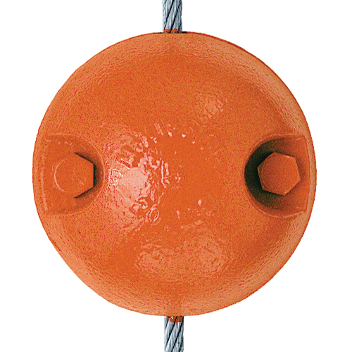 "Crosby SHB-15 Split Overhaul Ball - 1/4"" - 5/16"" Wire Rope - #2003822"