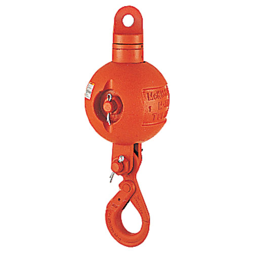 Crosby UB500S Top-Swiveling Overhaul Ball - 7 Ton WLL - #1036063