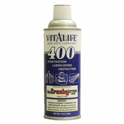 Crosby V-400 Vitalife 12 oz Wire Rope Lubricant - #1038946