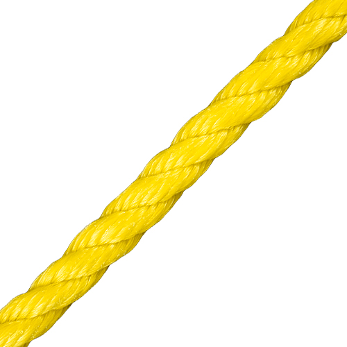 "CWC 1/2"" PolyPro 3-Strand Rope - 3780 lbs Breaking Strength"