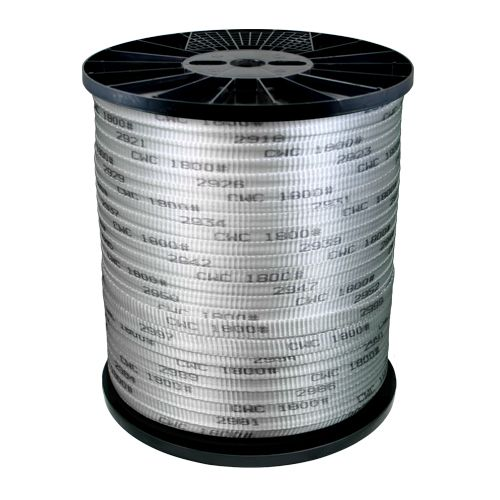 "CWC 1/2"" x 3000 ft Conduit Pull Tape - 1250 lbs Breaking Strength"