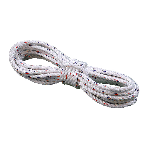 3//4 3//8 1 25 600 Feet Paracord Planet 1//2 50 Twisted 3 Strand PolyDac Combo Utility /& Towing Rope 250 500 100 300 1-1//2 White with Red Tracer 2 inch Diameters in 10 5//8