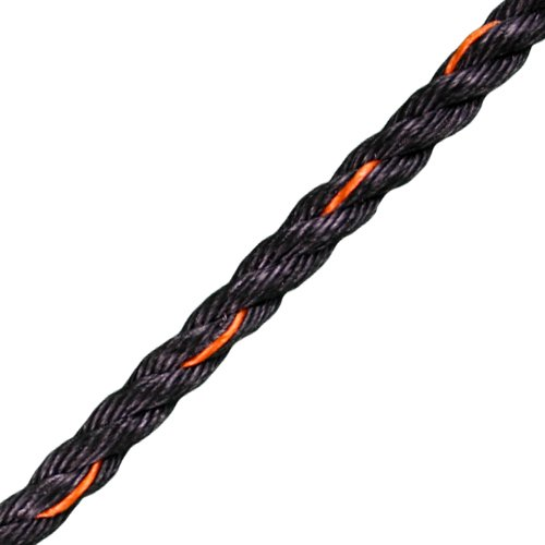 "CWC 3/8"" PolyPro 3-Strand Truck Rope - 2430 lbs Breaking Strength"