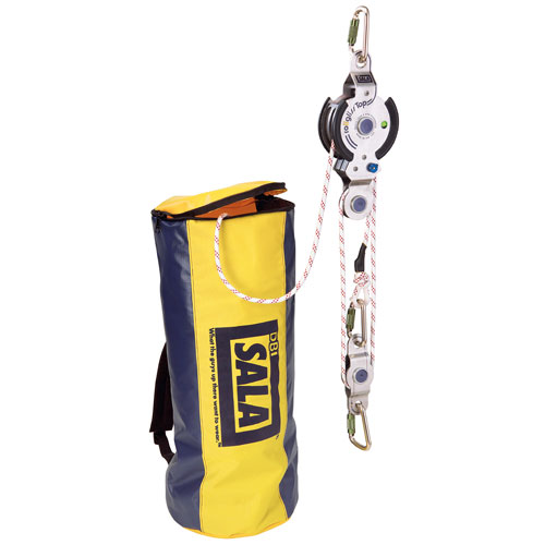 DBI Sala 100 ft Rollgliss R350 3:1 Rope Rescue System - #8902006
