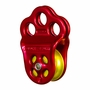 "DMM Hitch Climber Triple Attachment Pulley - 1/2"" Rope"