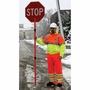 """DSP 24"""" Engineer Grade Reflective Stop Slow Paddle"""