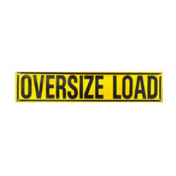 DSP 5 ft Oversize Load Roll-Up Banner