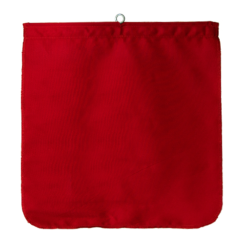 """DSP Red Cloth Tailgate Flag - 18"""" x 18"""""""
