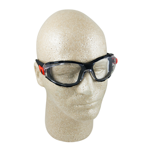 Elvex Go-Specs Clear Anti-Fog Foam-Lined Safety Glasses