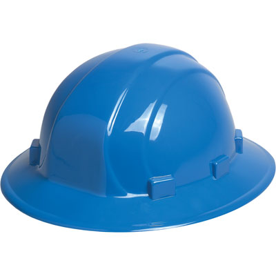 ERB Omega II Full Brim Hard Hat - Blue
