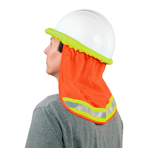 ERB S268 Mesh Neck Shield - Hi-Vis Orange
