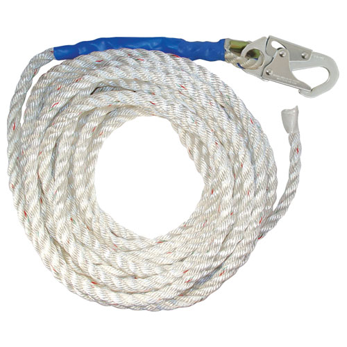 "FallTech 25 ft Vertical Lifeline - 5/8"" Rope - #8125T"