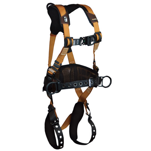 FallTech Advanced ComforTech Gel Construction Harness - Size Medium - #7081BFD-M