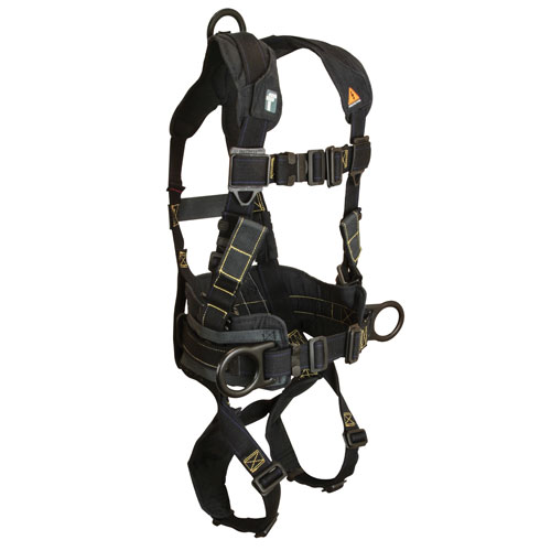 FallTech Arc Flash Construction & Rescue Harness - Size Small - #8073R-S