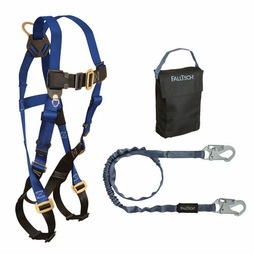 FallTech Carry Kit - 7015 Harness & 8259 Lanyard - #KIT152595P