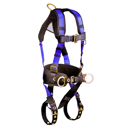 FallTech Contractor+ Construction Harness - Size Large / XL - #7073B-LX