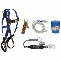 FallTech Deluxe Roofer's Kit - 50 ft Lifeline - #8595A