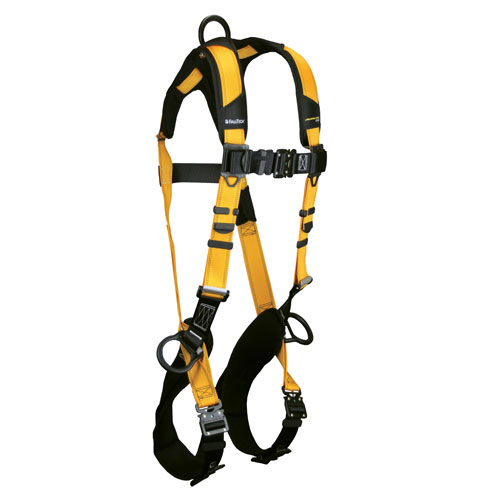 FallTech Journeyman Flex Non-Belted Construction Harness - Size X-Large - #7023BQC-XL