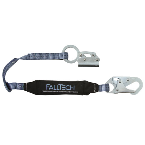 "FallTech Manual Rope Grab & 3 ft Lanyard Combo - 5/8"" - #8353"
