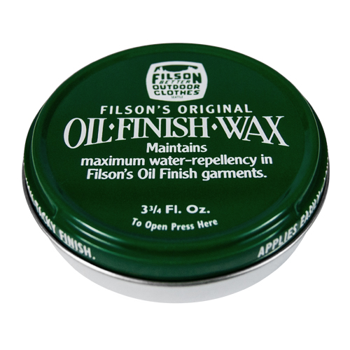 Filson's Oil Finish Wax