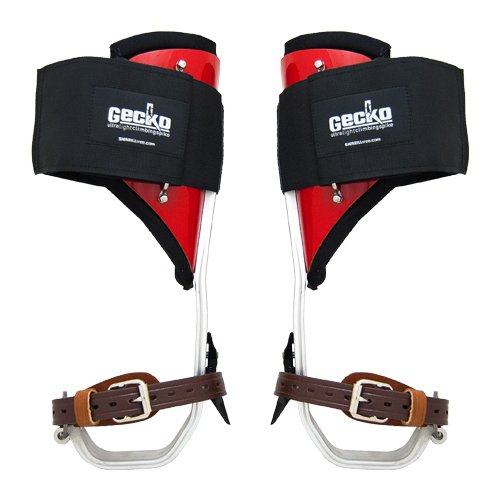 Gecko Ultra Light Aluminum Pole Climbing Spurs & Pads - #40929P