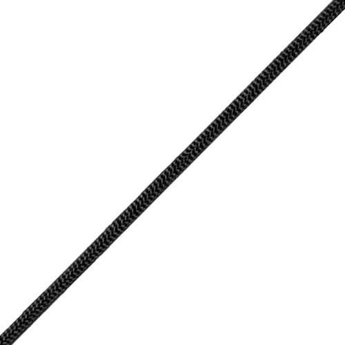 Gladding #550 x 1000 ft Paracord - Black - 460 lbs Breaking Strength