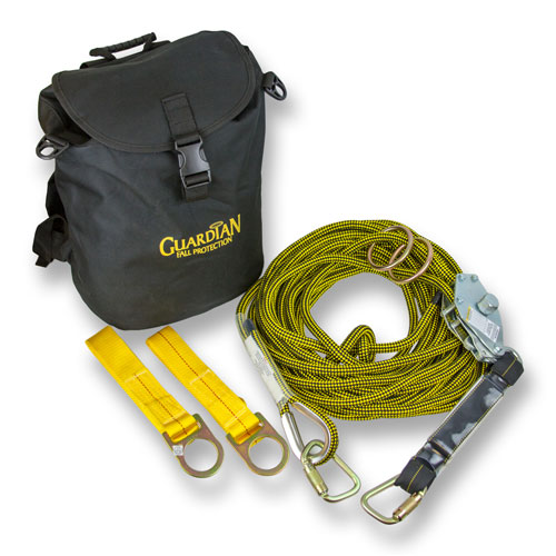 Guardian 60 ft Rope Horizontal Lifeline System - #04639