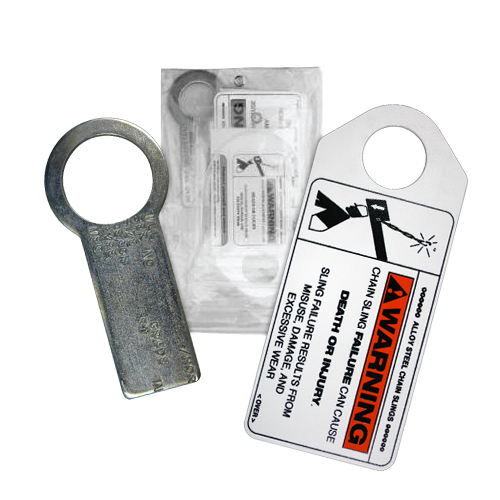 Gunnebo Alloy Chain Sling Tag Kit - #680095