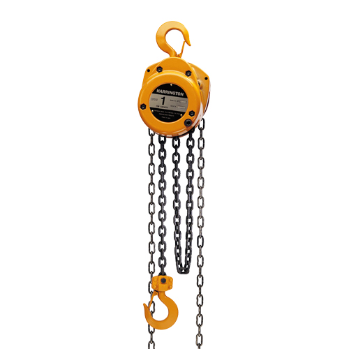 Harrington CF 3 Ton x 10 ft Hand Chain Hoist