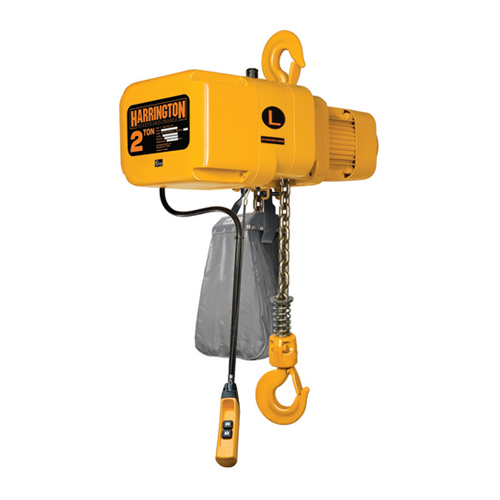 Harrington 2 Ton x 10 ft NER Electric Chain Hoist