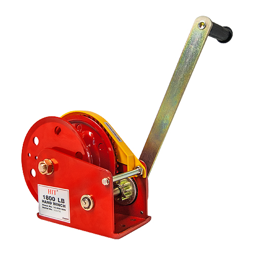 HIT H-100 Hand Winch - 1800 lbs Capacity - #16-HW1800