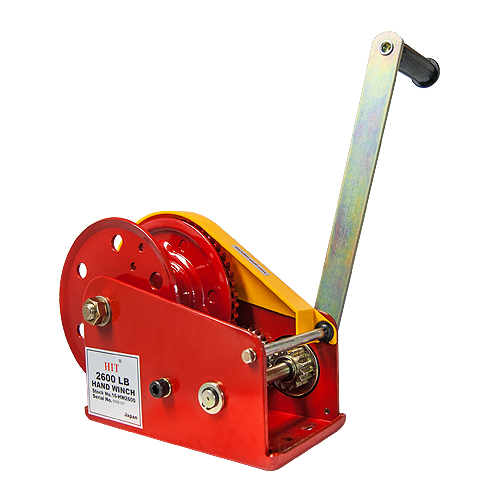 HIT H-100 Hand Winch - 2600 lbs Capacity - #16-HW2600