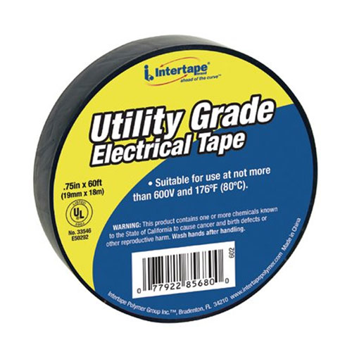 """IPG 3/4"""" x 60 ft 7 mil General Duty Electrical Tape"""
