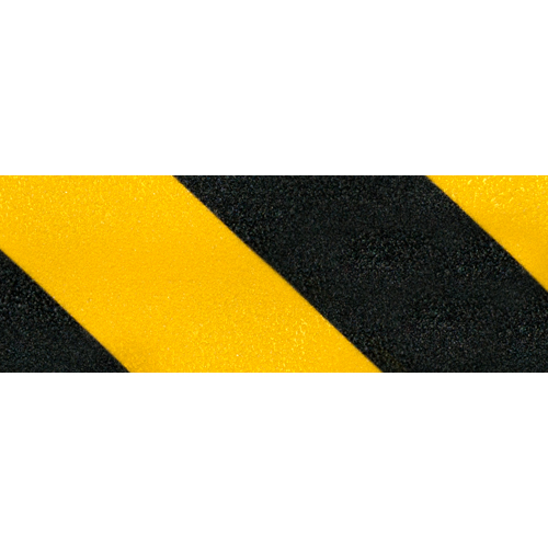 "Jessup 4"" x 60 ft Yellow / Black Non-Skid Tape"