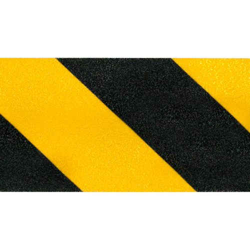"Jessup 6"" x 60 ft Yellow / Black Non-Skid Tape"