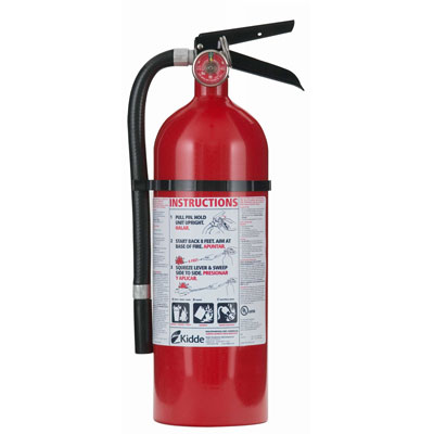 Kidde Pro Line ABC Fire Extinguisher - 5 lbs w/ Vehicle Bracket - #46611201