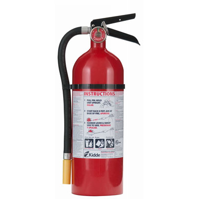 Kidde Pro Line ABC Fire Extinguisher - 10 lbs w/ Wall Hook - #466204