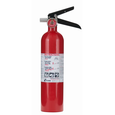 Kidde Pro Line ABC Fire Extinguisher - 2.5 lbs w/ Wall Hook - #466227