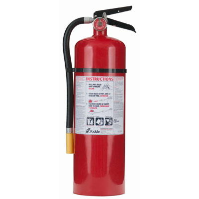 Kidde Pro Line ABC Fire Extinguisher - 20 lbs w/ Wall Hook - #466206